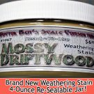 MOSSY DRIFTWOOD WEATHERING STAIN-4oz  Doctor Ben's CONTEST PROVEN! Sn3/On3