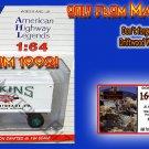 1930s BEKINS MOVING COMPANY MACK CJ SEMI-TRACTOR/TRAILER AHL/Hartoy Sn3/1:64 MIB