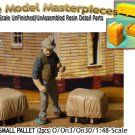 COVERED GOODS-SMALL PALLET (2pcs) Scale Model Masterpieces O/On3/On30/1:48