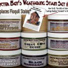 Weathering Stain Set #2 & How-To Booklet 8-Jar READY-TO-USE FLOQUIL REPLACEMENTS!