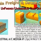 ROOF TOP INDUSTRIAL A/C UNIT/MD #1 N/Nn3/1:160-Scale Cal Freight & DETAIL