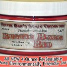 RUSTIC BARN RED WEATHERING STAIN-4oz Doctor Ben's FLOQUIL REPLACEMENT WOOD/RESIN