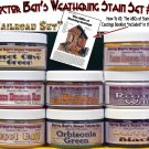 Weathering Stain Set #4 & How-To Booklet 8-COLOR READY-TO-USE FLOQUIL REPLACEMENTS!