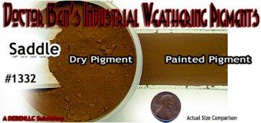 Saddle Doctor Ben's Weathering Pigment Plastic/Metal/Resin 2oz- *NEW* HO/N