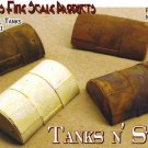 HALF-BURIED STEEL TANKS-4pcs LABSTONE Multi-Scale Model Masterpieces HOn3/HOn30