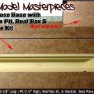 BASE/PIT KIT Transition Enginehouse Kit #128 Scale Model Masterpiece HO/HOn3