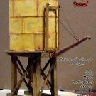 Rio Grande La Jara Water Tank Kit Scale Model Masterpiece/Yorke Sn3/Sn3/1;64