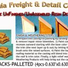STACK O' SACKS-PARTIAL ON PALLET(4pcs) Scale Model Masterpieces HO/HOn3