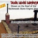 BRICK CHIMNEY FACTORY/Blacksmith/Residence-Scale Model Masterpieces/Yorke Sn3/S