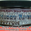 MUDDY RIVER BOTTOM Weathering Solution 4oz-Doctor Ben's READY-TO USE.On3/On30