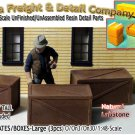 PLYWOOD/WOODEN CRATES-(3pcs-LabStone) Scale Model Masterpieces O/On3/On30/1:48