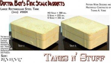 Large Rectangular Steel Tank (1pc) Multi Scale Doctor Ben's