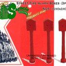 Street Fire Alarm Boxes (3pcs) - HO/HOn3HOn30/HOn2 Sequoia Models