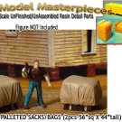 TARP COVERED-PALLETED SACKS/BAGS (2pcs) Scale Model Masterpieces/HO/HOn3/HOn30