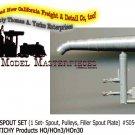 WATER TANK SPOUT SET (1Set) Grandt Line Products 1;87/HOn3/HOn30