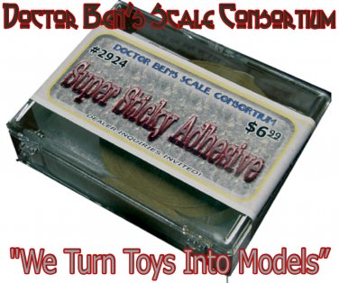 """SUPER STICKY ADHESIVE-36yds x1/2""""-LAMINATE WOOD-2-PLASTIC-2-PAPER-2-METAL On3"""