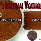 CHICAGO RED BRICK Weathering Pigment/PAINT 2oz-Doctor Ben's PLASTIC.METAL.WOOD