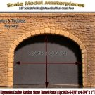 SINGLE CUT STONE TUNNEL PORTAL (1pc-NOS)  Model Dynamics/CHOOCH/AIM HO/HOn3