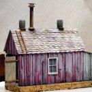 Backwoods Ramshackle Engine Shed Kit-Scale Model Masterpieces/Yorke HO30/HOn3