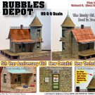 5th Anniversary Edition: Rubbles Depot & LOADING DOCK KIT YORKE/Scale Model Masterpieces HOn30/HOn3