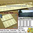 Tilt-Up Walls (A)-TWO SMALL GROUND LEVEL DOORS (2pcs) - 20'x40' SMM-N