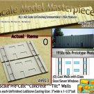 Tilt-Up Walls (O)-One Glass Door/Seven Windows-(2pcs) - 20'x40' SMM-N/Nn3