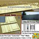 Tilt-Up Walls (B)-TWO ELEVATED DOORS-1ea SM/LG (2pcs) - 20'x40' SMM-N/Nn3