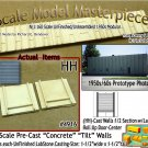 Tilt-Up Walls (HH)-1/2 Section w/Lg Door(2pcs-20'x20') SMM-N/Nn3