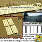 Tilt-Up Walls (FF)-1/4 Section w/Spines (2pcs-10'x20') SMM-N/Nn3