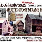 RUSTIC STONE & FRAME FACTORY NOS Kit Thomas A Yorke 1978 O/On3/On30 MIB