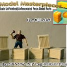 WOOD CRATES/BOXES (4pcs) Scale Model Masterpieces/Yorke HO/HOn3/HOn30
