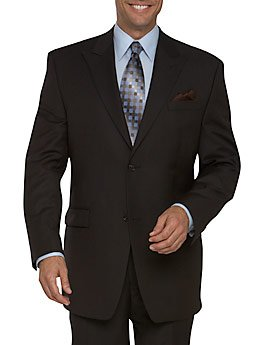 3 Button Brown Suit, 44R ONLY