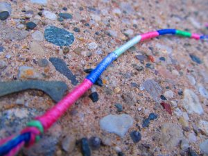 Variegated Wrap Bracelet