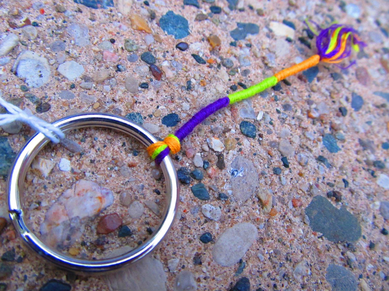 Colorful Wrap Keychain