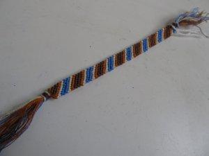 Blue & Brown Bookmark