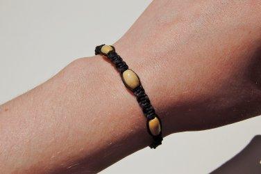 Black Macramé Bracelet 186-187