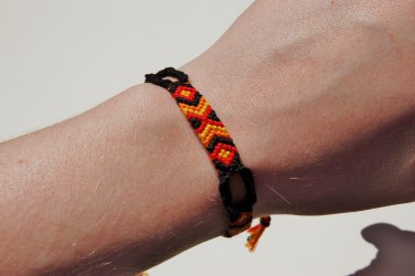 Fire Colored Friendship Bracelet 205-206
