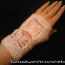Taming the Butterfly Fingerless Gloves