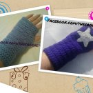 2-Pair Fingerless Gloves