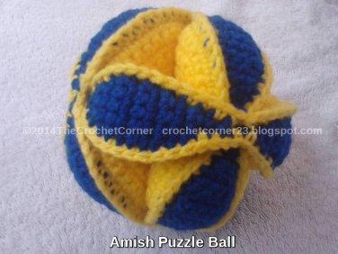 Amish Puzzle Ball - Large Size