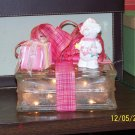 Lighted Glass Block - Girl's Room