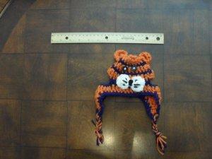 Tiger Doggie Dud Crochet Hat