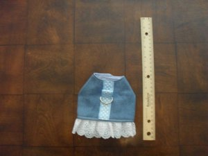 Denim Harness Dress by Doggie Duds