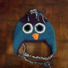 Crocheted Ear-Flap Cap