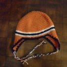 Crocheted Ear-Flap Hat/Cap