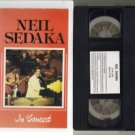 Rare!! NEIL SEDAKA IN CONCERT Rare OOP VHS video