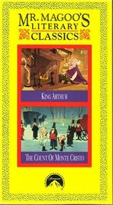 New MR. MAGOO Mister Magoo's KING ARTHUR Count of Monte