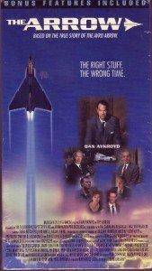 Sealed!! THE ARROW 1997 TV MOVIE Dan Aykroyd 2 VHS SET