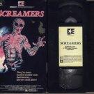 SCREAMERS 1979 aka:  Island of The Fishmen FERRER VHS