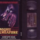 NIGHT CREATURE '78 Donald Pleasence JENNIFER RHODES VHS
